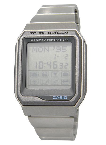 【楽天市場】CASIO[カシオ] MODEL NO.vdb200-1TOUCH SCREEN タッチスクリーン ヴィンテージモデル【楽ギフ_包装選択】:Gift Time