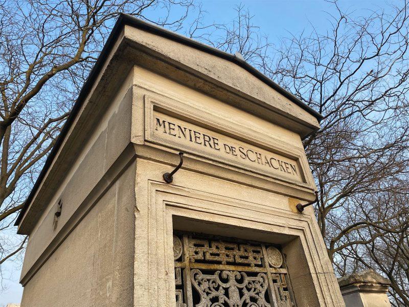 プロスペル・メニエールのお墓